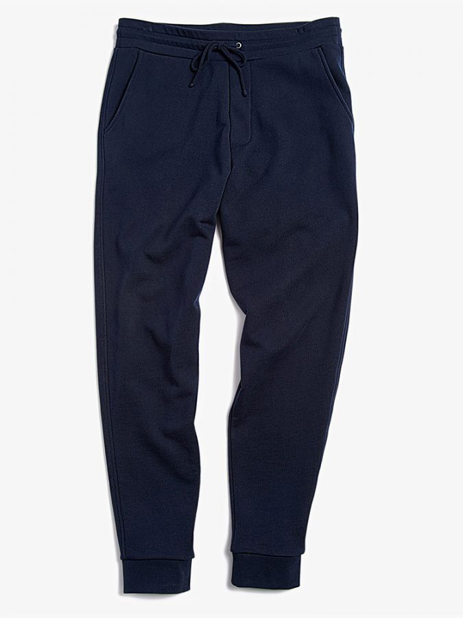 The French Terry Sweatpant - Hooper - Navy