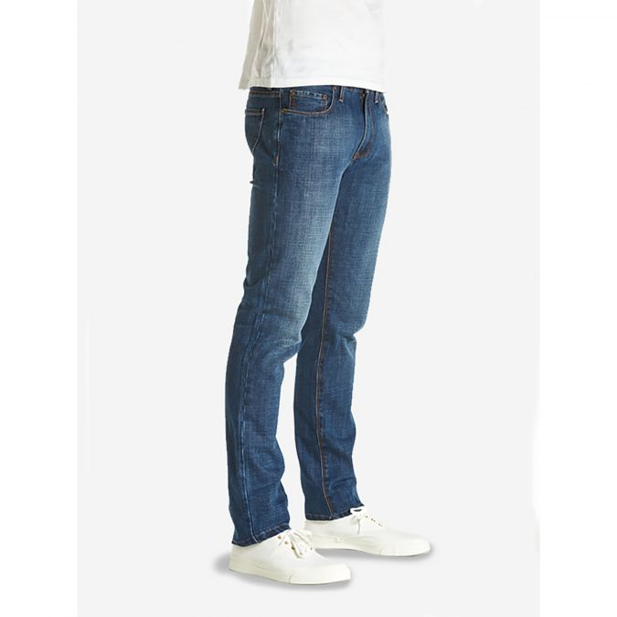 Slim - Bedford - Light/Medium Blue