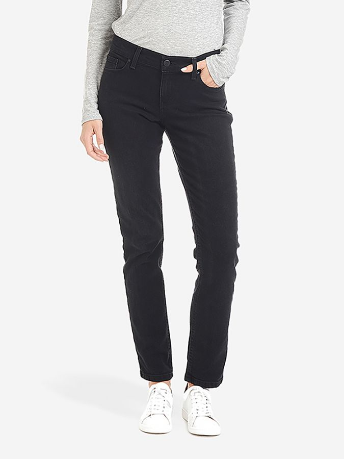 Slim Boyfriend - Allen - Washed Black