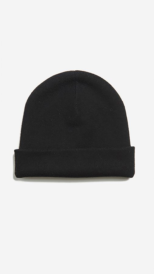 The Ribbed Beanie - Walker - Black
