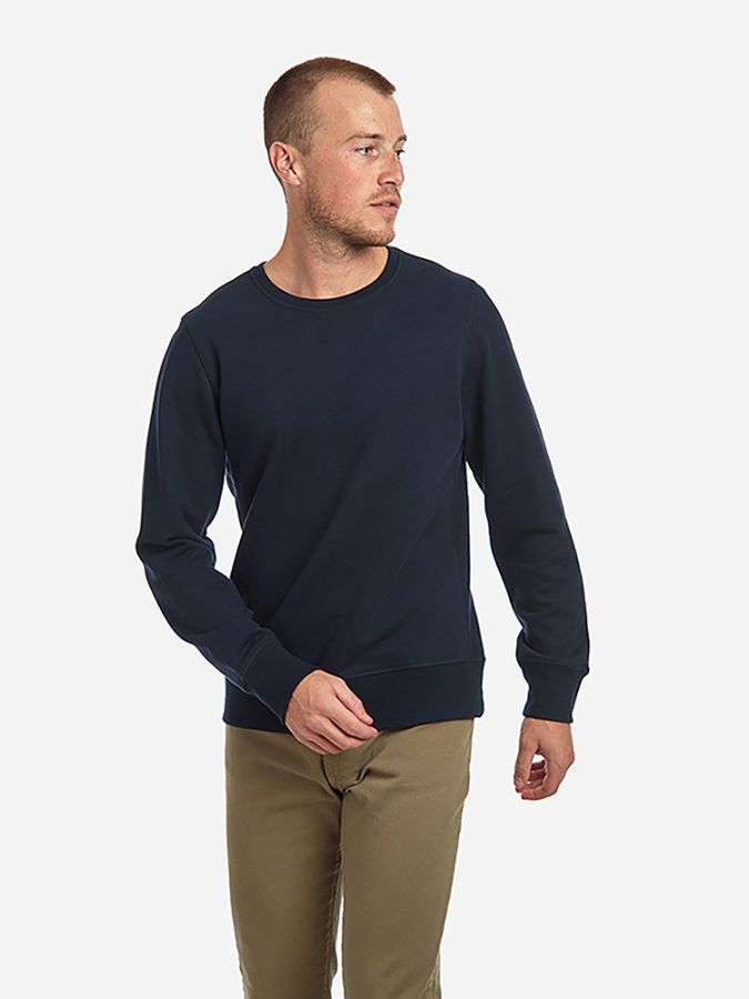 The French Terry Sweatshirt - Hooper - Navy