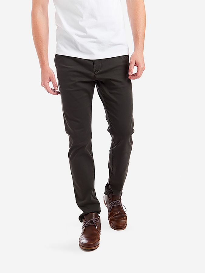 The Twill Chino - Charles - Dark Gray