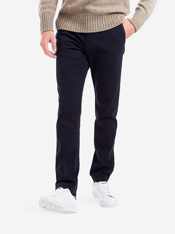 The Twill Chino - Charles - Navy
