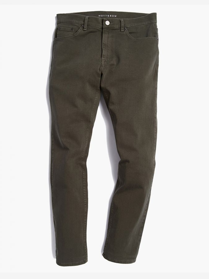Slim - Mercer - Military Green
