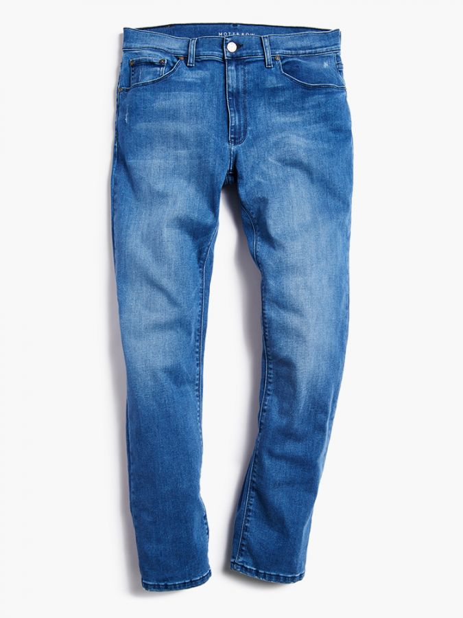 Slim - Staple - Medium Blue