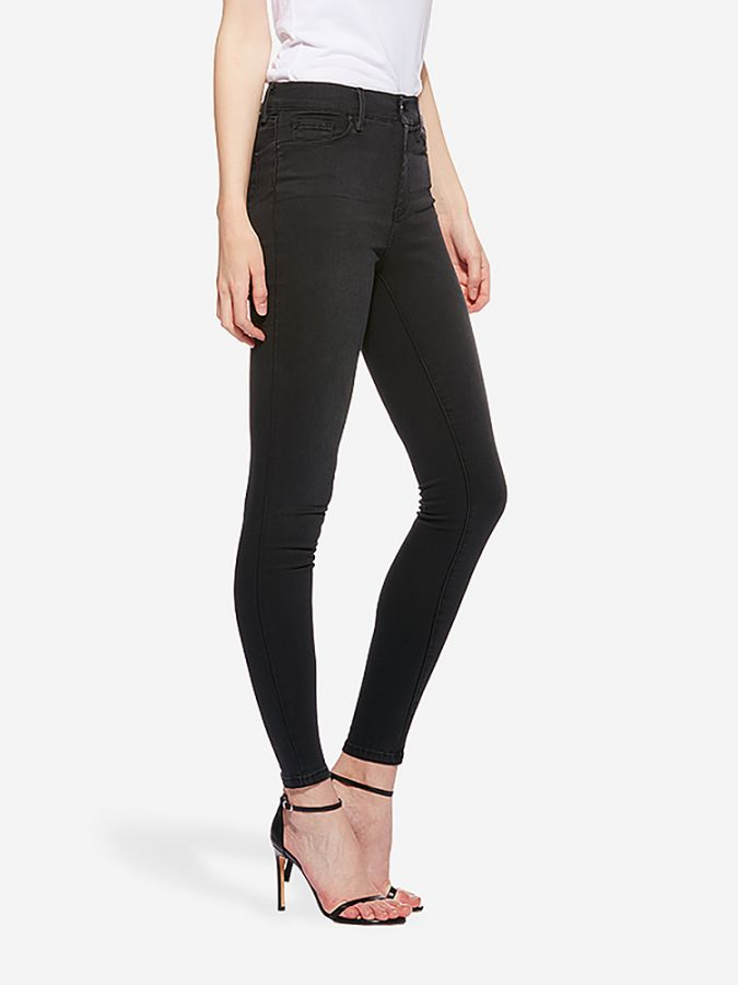High Rise Skinny - Orchard - Dark Gray