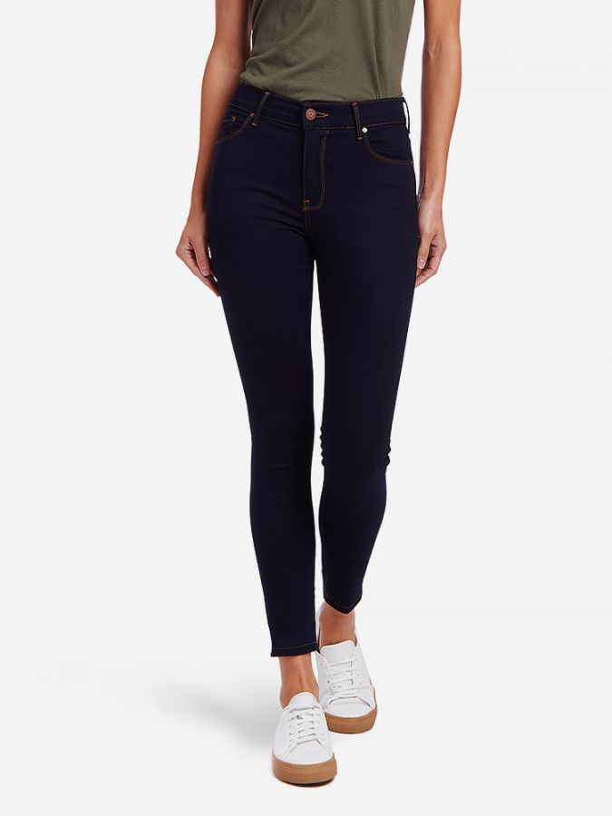 High Rise Skinny - Ann - Dark Blue