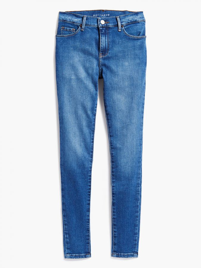 High Rise Skinny - Beekman - Light/ Medium Blue