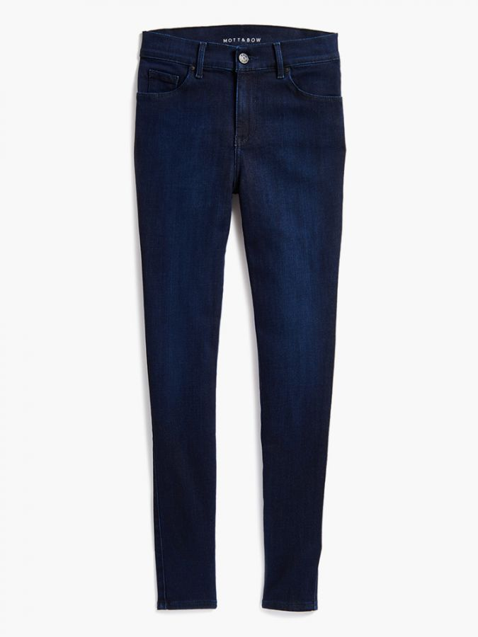 High Rise Skinny - Jane - Medium/Dark Blue