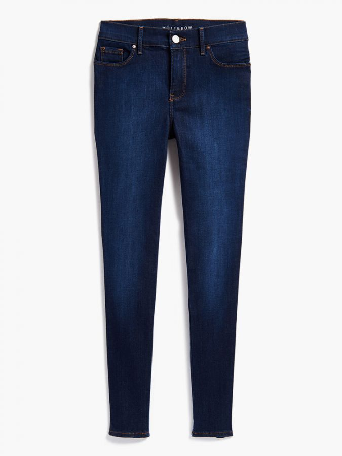 High Rise Skinny - Jane - Faded Medium/Dark Blue