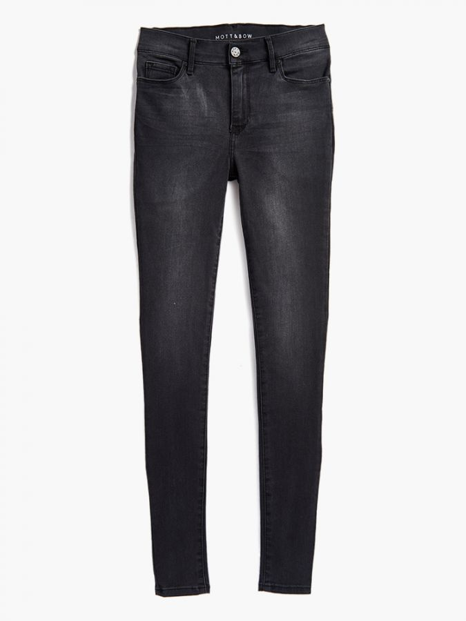 Mid Rise Skinny - Orchard - Dark Gray