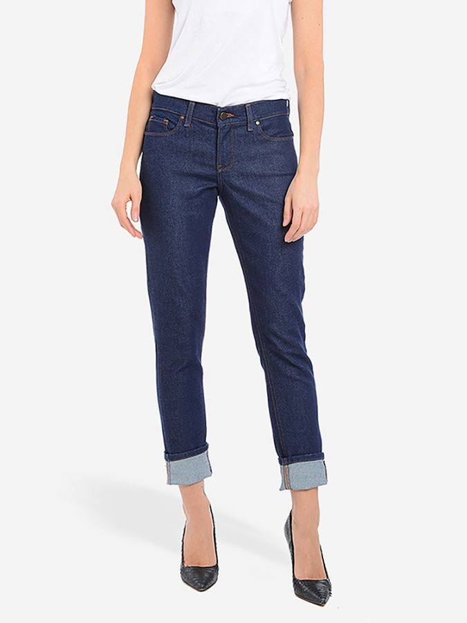 Slim Boyfriend - Laight - Dark Blue