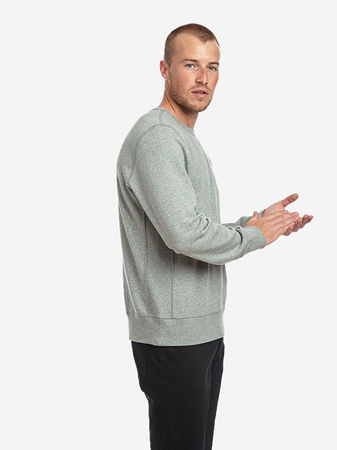 The French Terry Sweatshirt - Hooper - Heather Gray