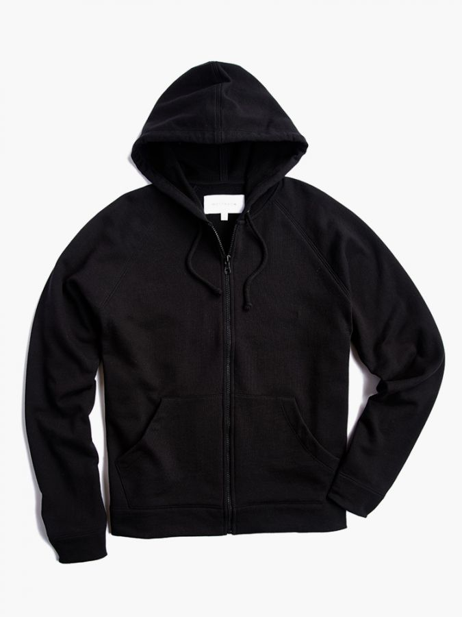The French Terry Hoodie - Hooper - Black