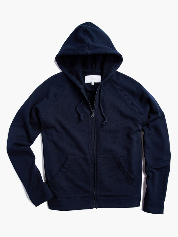 The French Terry Hoodie - Hooper - Navy