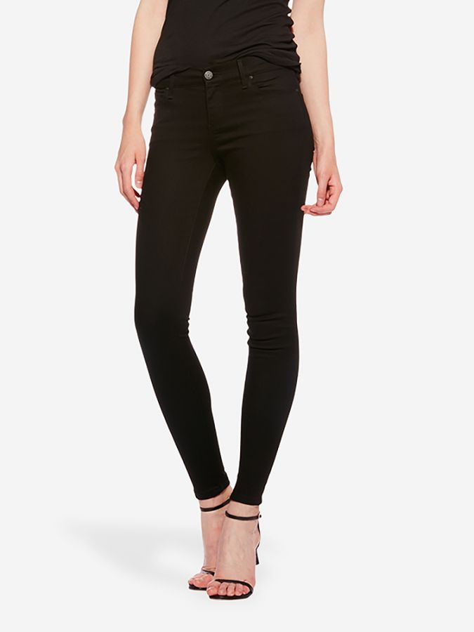 Mid Rise Skinny - Bond - Black