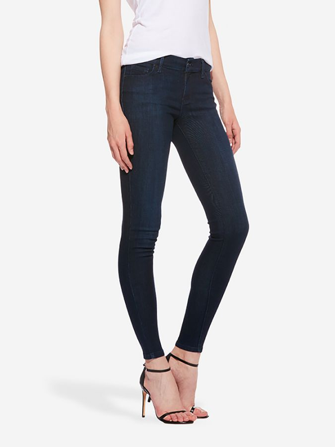 Mid Rise Skinny - Jane - Medium/Dark Blue