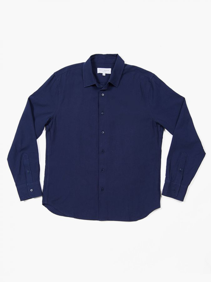 The Slim Fit Shirt - Preston - Navy