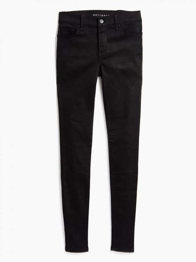 High Rise Skinny - Bond - Black