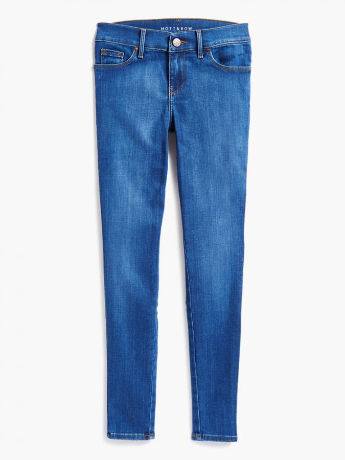 High Rise Skinny - Jane - Medium Blue