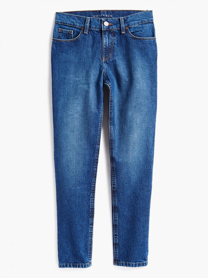Slim Boyfriend - Henry - Medium/Dark Blue