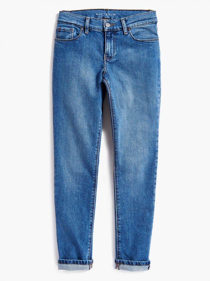Slim Boyfriend - Warren - Light/Medium Blue