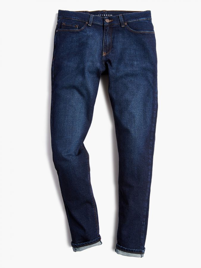 Slim - Benson - Medium/Dark Blue
