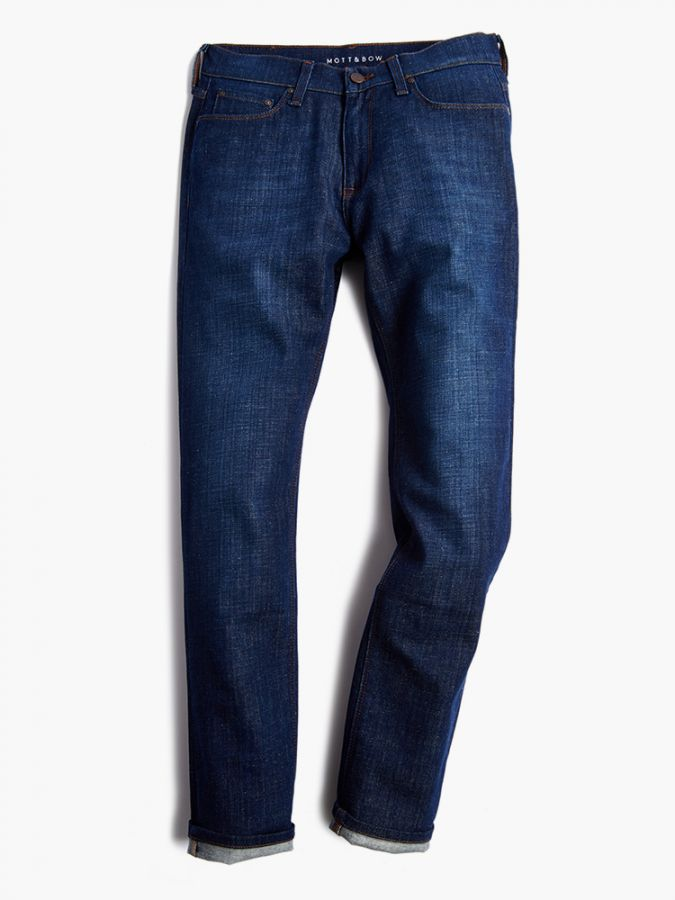 Slim - Bleecker - Medium Blue