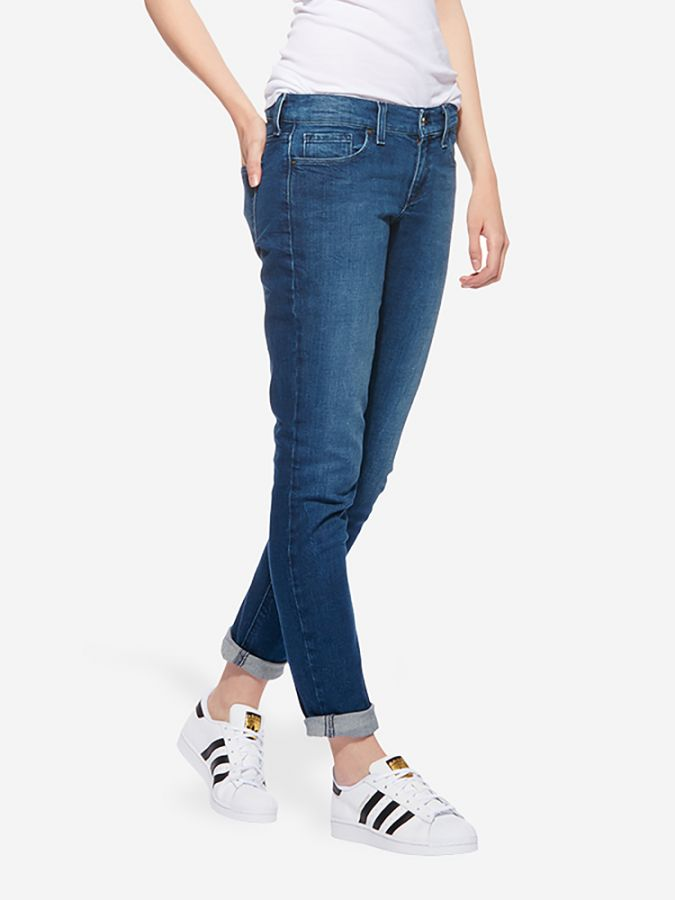 Slim Boyfriend - Laight - Medium Blue