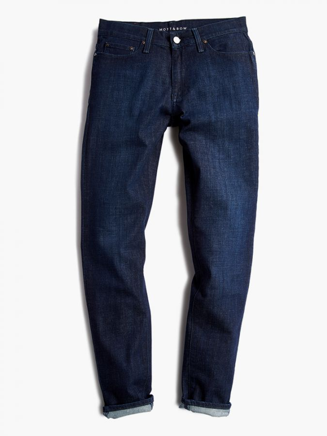 Slim - Crosby - Medium/Dark Blue