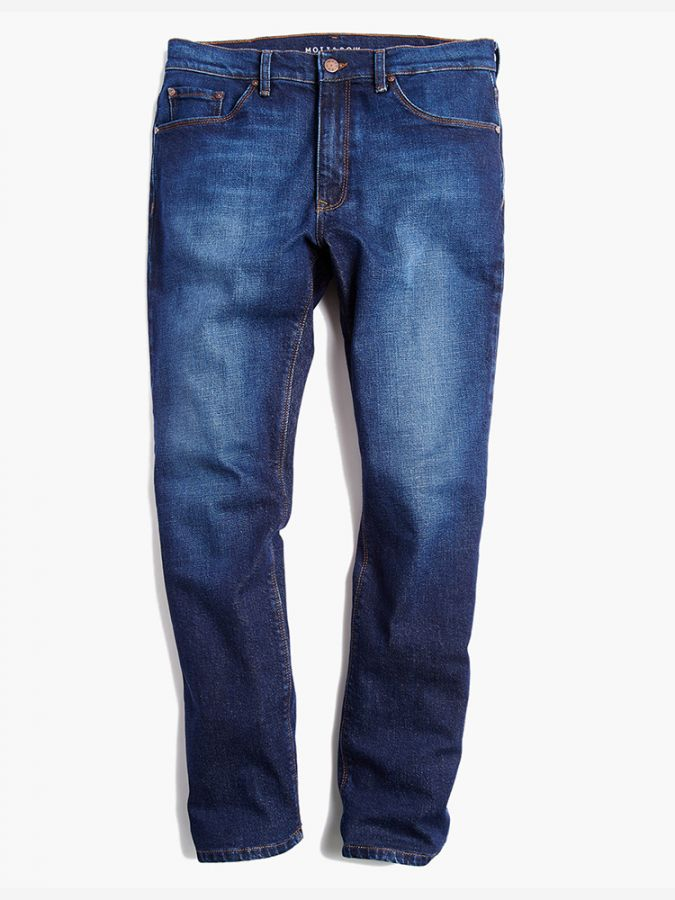 Slim - Hubert - Medium/Dark Blue