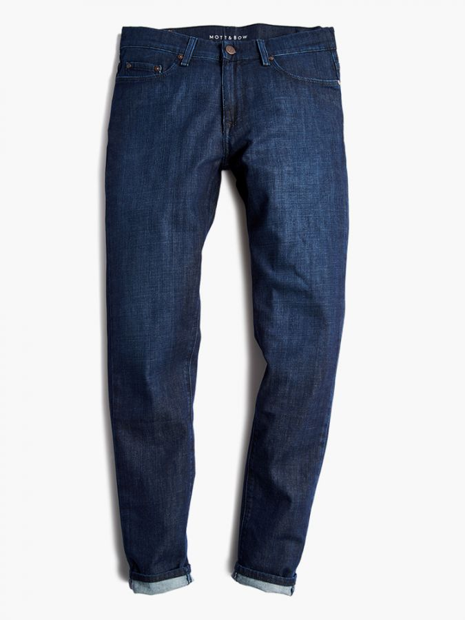 Straight - Mosco - Medium Blue