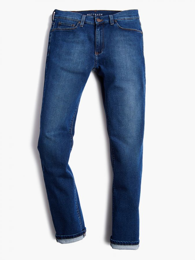 Slim - Oliver - Light/Medium Blue