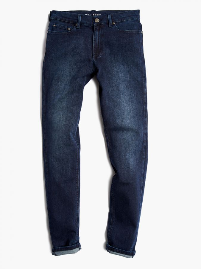 Slim - Staple - Medium/Dark Blue