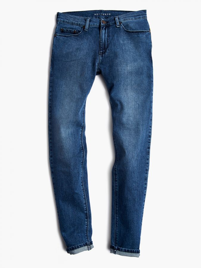 Slim - Warren - Medium Blue